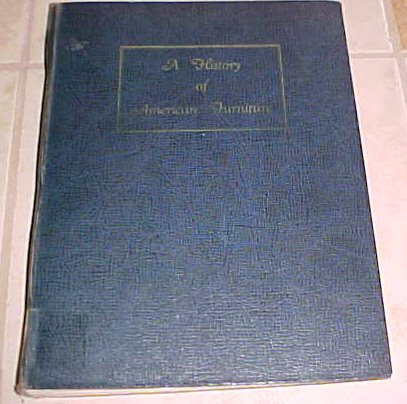 A History of American Furniture Marta Sironen 1936 hardcover