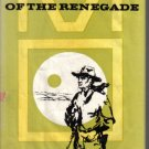 Brand of the Renegade Francis Mitchell Western 1958 HC