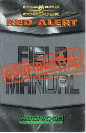 Command & Conquer Red Alert Field Manual Confidential