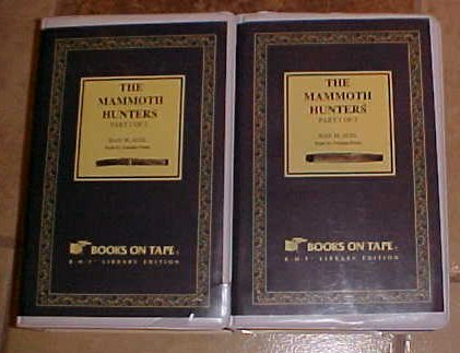 The Mammoth Hunters Jean M. Auel Audio Cassette Book
