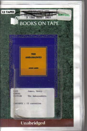 The Ambassadors Henry James Unabridged Audio Book Cassettes