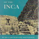 Empire of the Inca Burr Cartwright Brundage HC DJ