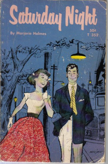 Saturday Night Marjories Holmes 1962 paperback