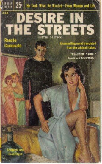 Desire in the Streets Renato Cannavale