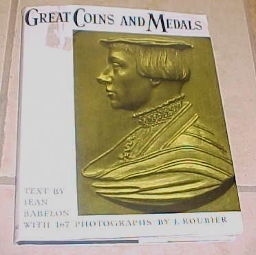 Great Coins and Medals Jean Babelon 1959 HC DJ