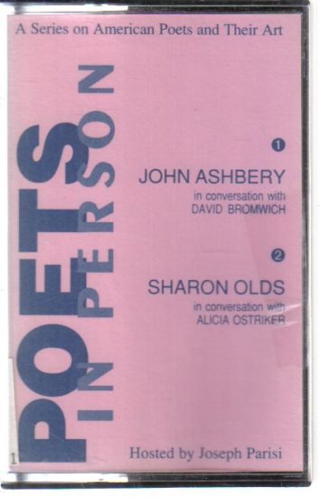 Poets in Person John Ashbery Sharon Olds audio cassette