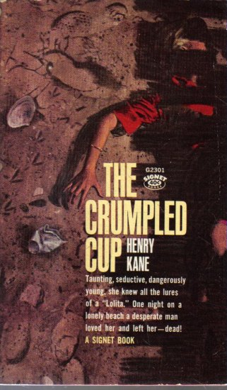 The Crumpled Cup Henry Kane 1963 Signet Paperback