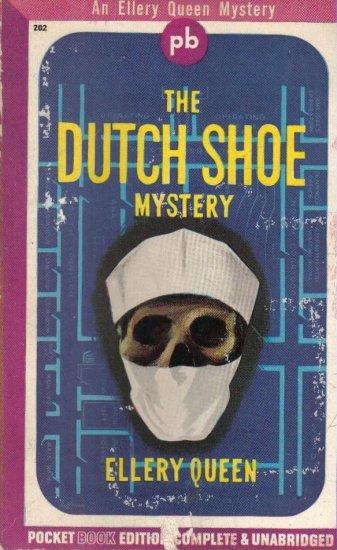 The Dutch Shoe Mystery Ellery Queen 1943 Pocket paperback