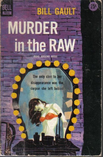 Murder in the Raw Bill Gault 1955 Paperback