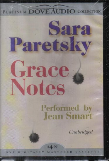 Grace Notes Sara Paretsky audio book 1 cassette uanbridged