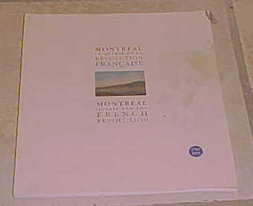 Montreal Quebec and the French Revolution