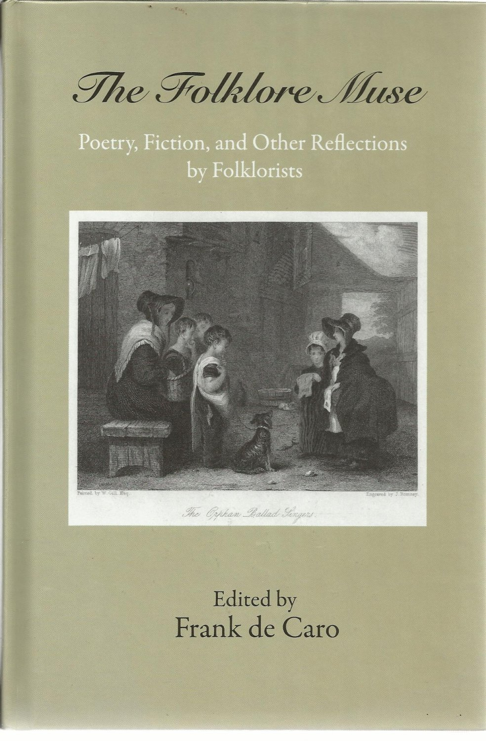 Folklore Muse Poetry Fiction Other Reflections by Folklorists