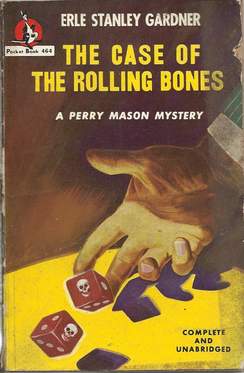 The Case of the Rolling Bones Erle Stanley Gardner 1949 Vintage paperback