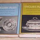 Illustrated History English Plate Ecclesiastical Secular 2 volumes 1969 HC DJ Jackson