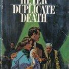 Duplicate Death Georgette Heyer