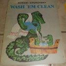Wash 'Em Clean Kornei Chukovsky Russian tale
