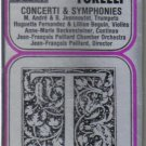 Giuseppe Torelli Concerti Symphonies (Musical Heritage Society Audio Cassette)