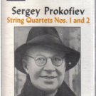 Sergey Prokofiev String Quartets Nos. 1 and 2 (Musical Heritage Society Audio Cassette)