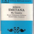 Bedrich Smetana My Country (Musical Heritage Society Audio Cassette)