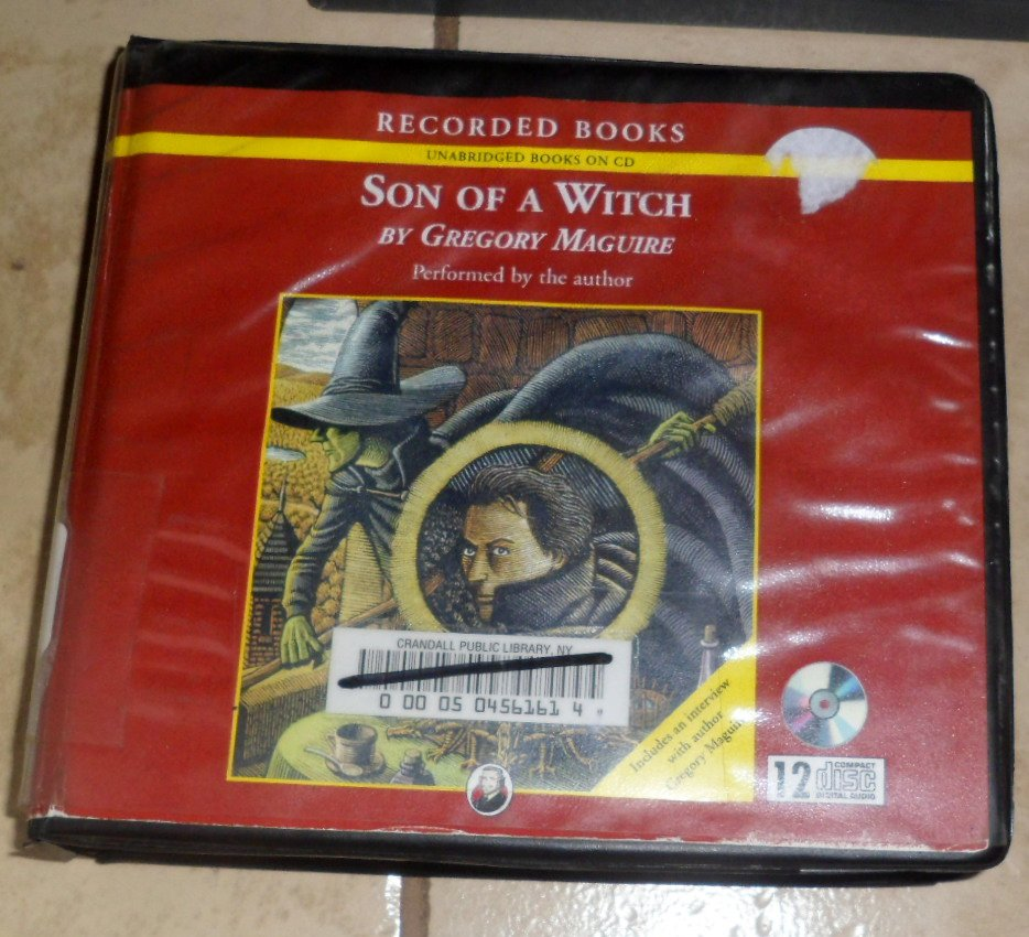 Son of a Witch (audio book cds) Gregory Maguire