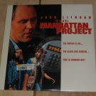 Laserdisc THE MANHATTAN PROJECT Laser Disc Videodisc SEALED