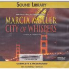 City of Whispers (A Sharon McCone Mystery) (Audio Book Cds)