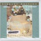 Savor the Moment Book 3 of Bride Quartet (Audio Book Cds) Nora Roberts