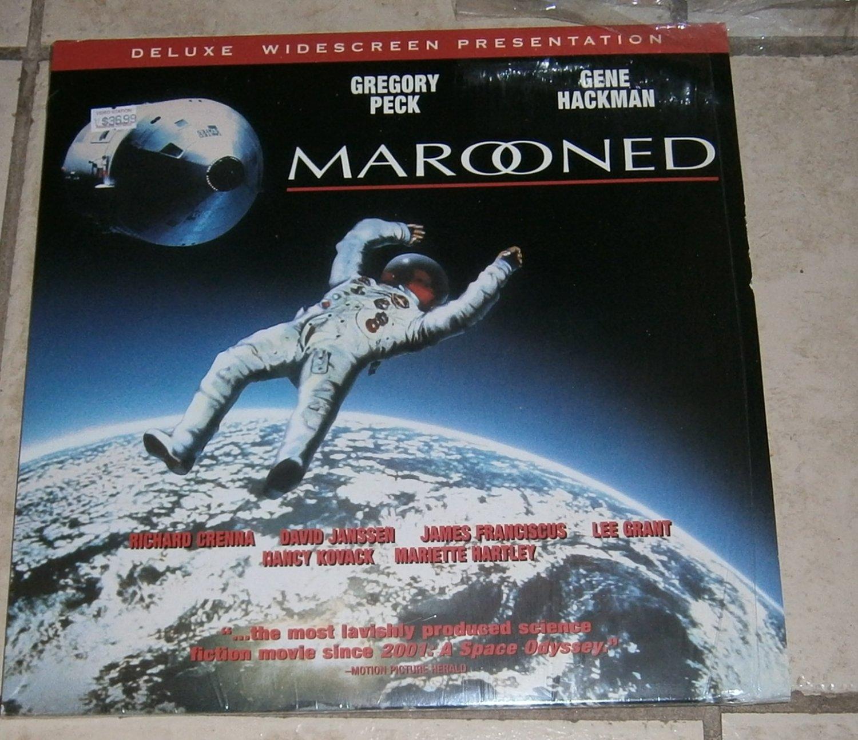 Marooned Laserdisc Laser Disc Widescreen Presentation Very good