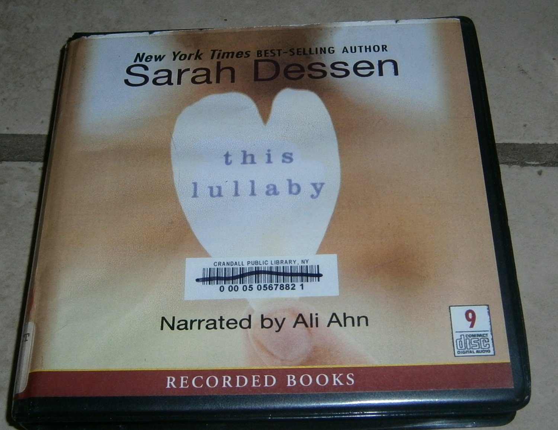 This Lullaby Sarah Dessen Audiobook Cds