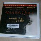 Burning Lamp Amanda Quick audio book cds
