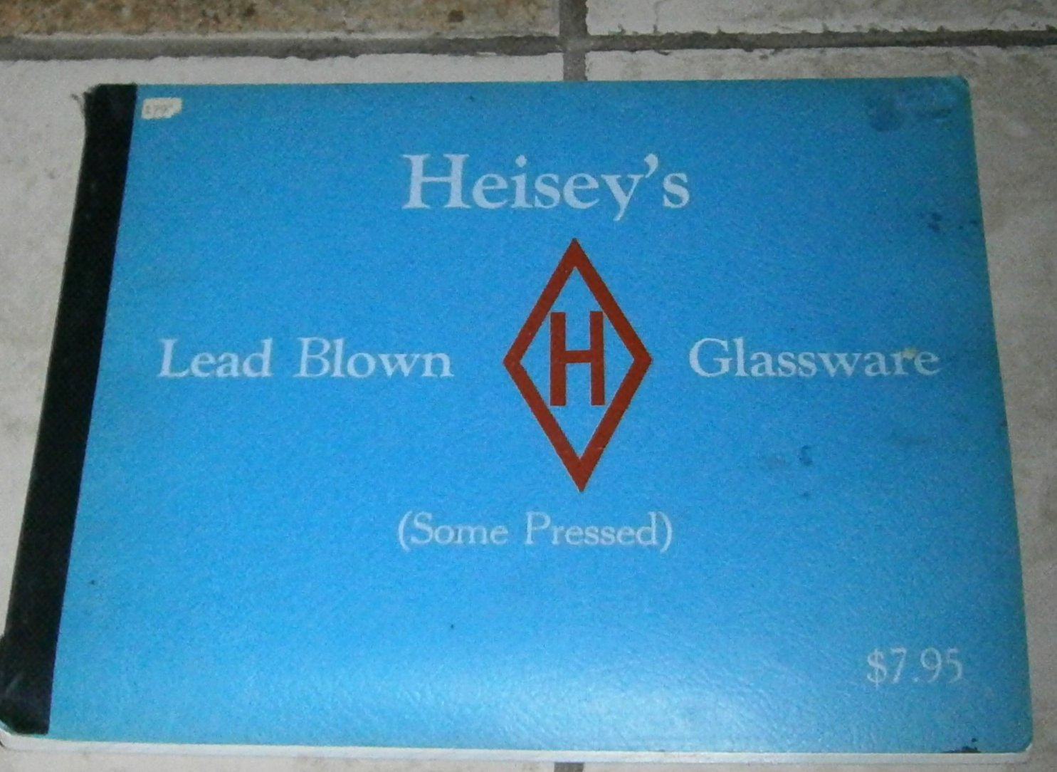 Heisey's Lead Blown Glassware (some Pressed)