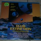 CLUB EXTINCTION Laserdisc Bates Beals Very Good condition video laser disc