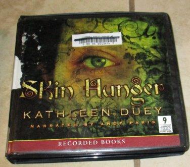SKIN HUNGER Kathleen Duey AUDIO BOOK CDS