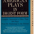 Great American plays in digest form Apollo Edition John Lovell