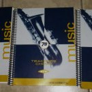 TEACHER'S CHOICE MUSIC Grade 7A, 7B & 7C in Three Books with 3 CD's. Spiral-bound
