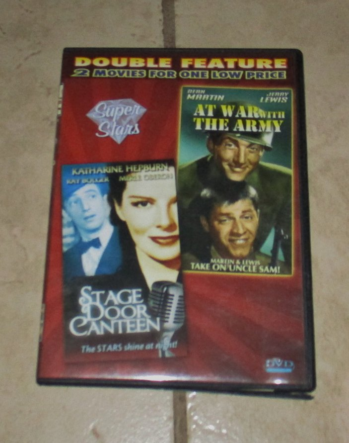 Stage Door Canteen and At War With the Army Double Feature DVD