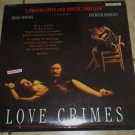 LOVE CRIMES Laserdisc SEALED Video laser disc