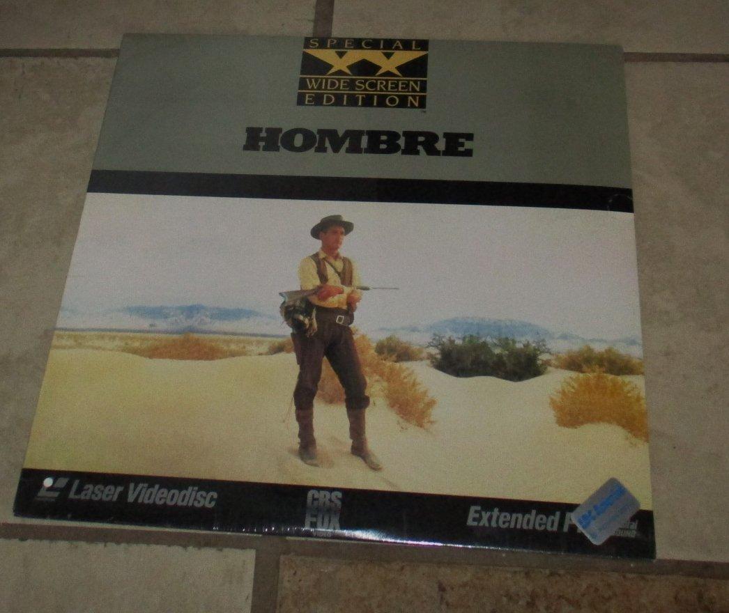 HOMBRE Laserdisc SEALED Widescreen Edition Video laser disc