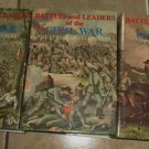 Battles and Leaders of the Civil War 3 Volumes HC DJ Opening Struggles Tide Shifts