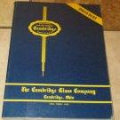Fine Handmade Table Glassware Cambridge Glass Company 1949-1953 Book soft cover