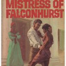 Mistress of Falconhurst Lance Horner Deep South Slavery Paperback