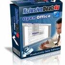 Open Office 2008 Fits Microsoft Windows XP Vista Files!