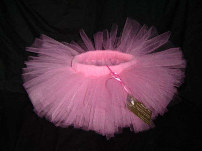 Paris Pink Tutu Mid-Thigh, 2T-5-Free Shipping