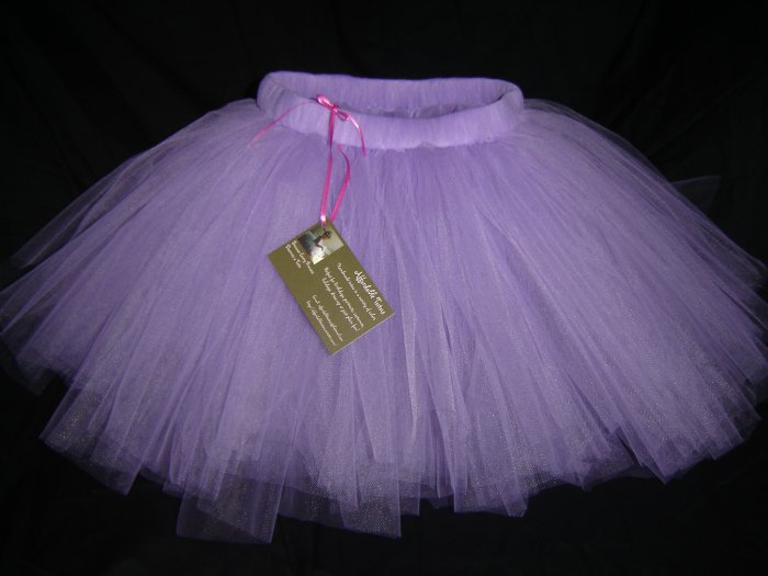 Purple Knee Length Tutu, 2T-5 Free Shipping!