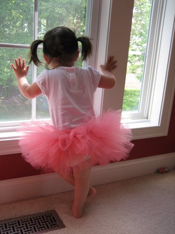 Coral Mid-Thigh Length Tutu, 0-24M Free Shipping!