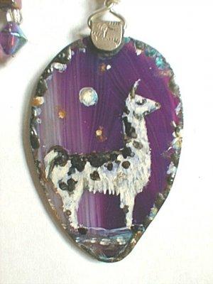 llama neckalce