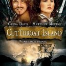 Cutthroat Island (DVD, 2007, O-Card Packaging)