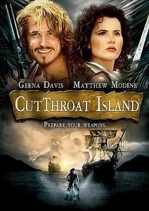 Cutthroat Island (DVD, 2007, O-Card Packaging)