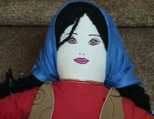 Turkish Peasant Doll, Girl