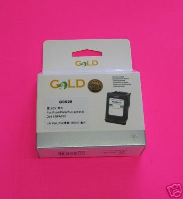 Black Ink Cartridge Compatible for Dell T0529 used for Dell A920 or Dell 720 printers